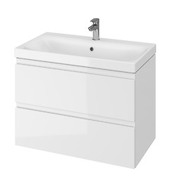 MODUO 80 washbasin cabinet white