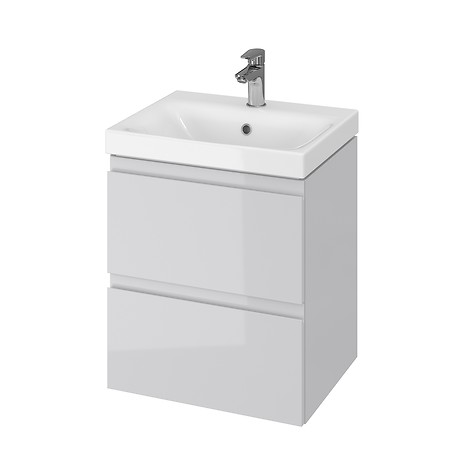 MODUO 50 washbasin cabinet grey