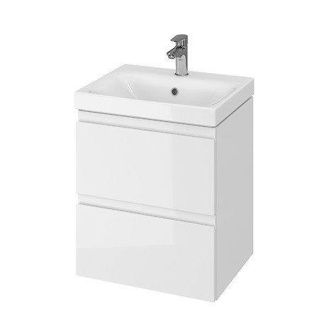 MODUO 50 washbasin cabinet white