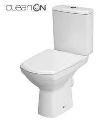 COMPACT 482 CARINA NEW CLEAN ON 010 3/5 TOILET SEAT DUR SC EO