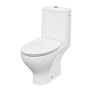 MODUO 010 WC compact CleanOn with MODUO/DELFI SLIM duroplast toilet seat