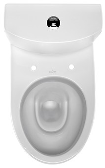 PARVA 010 WC compact set with PARVA duroplast, antibacterial toilet seat